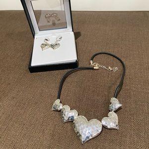 Heart Necklace Set ❤️NWOT